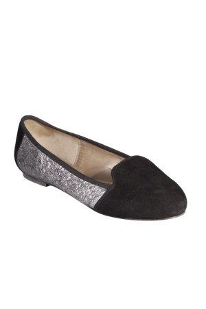 Ballerina zwart-zilver