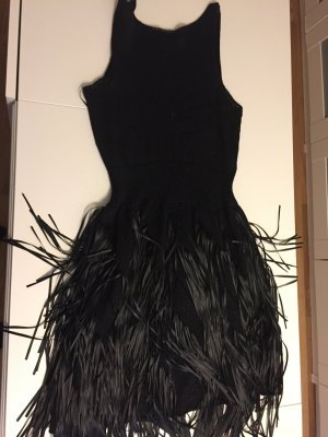 Coctailkleid, Strick, schwarz, Mango suit, gr S