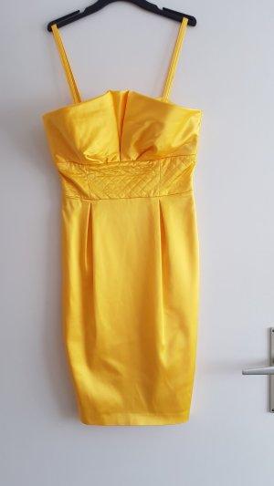 Apart Robe de soirée jaune