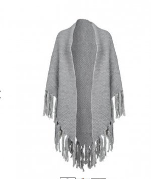 Codello Knitted Scarf grey