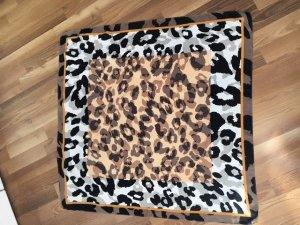 CODELLO°Edles Seiden - Tuch°90x90 cm°beige-weiß-schwarz-Camouflage°TOP Zustand