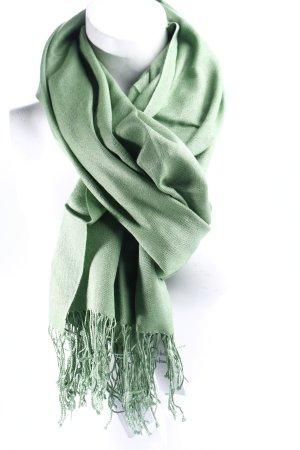 Codello Fransenschal grün klassischer Stil