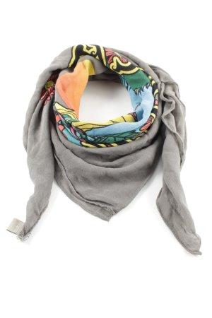 Codello Foulard argenté-gris clair motif graphique style décontracté