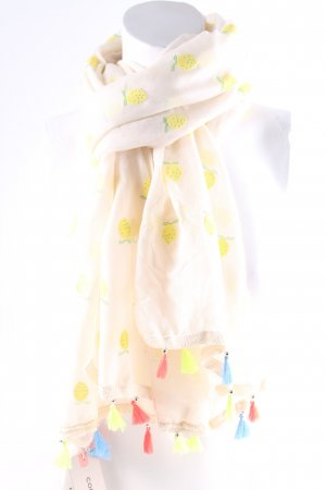 Codello Neckerchief oatmeal-yellow allover print casual look