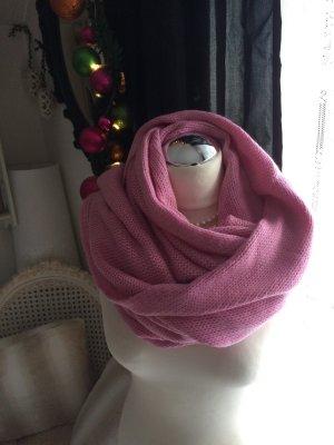 Codello langer schöner Strickschal in zartem rosa