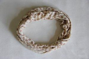 Codello Écharpe tube chameau-beige clair viscose