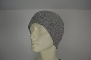 Codello Knitted Hat grey wool