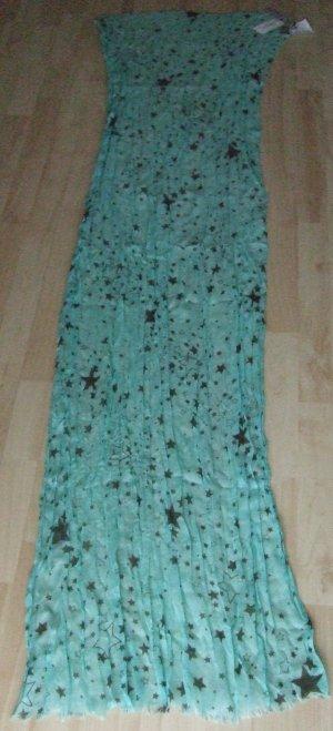 Codello One Schal/Tuch - mint grün Sterne - NEU