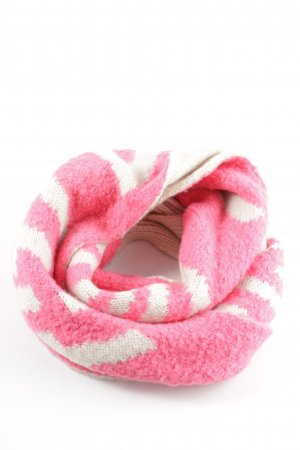 Codello Pashmina neonpink-creme Casual-Look