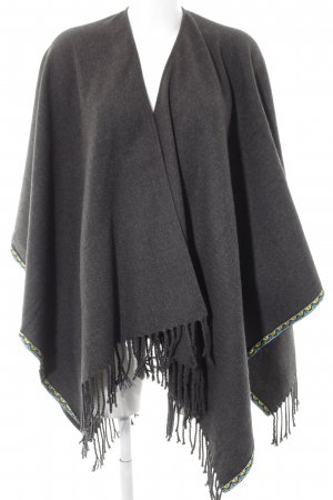 Codello Poncho abstraktes Muster Boho-Look