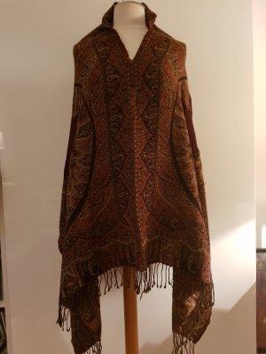 CODELLO Poncho aus dünner Wolle