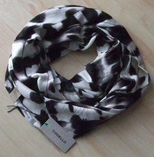 Codello Sciarpone nero-bianco sporco Viscosa