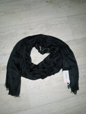 Codello Summer Scarf black polyester