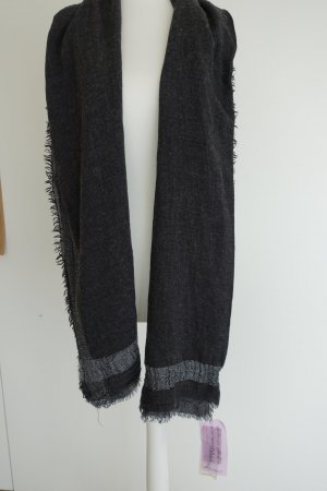 Codello Scarf black-dark grey polyacrylic