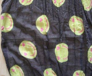 Codello Écharpe d'été gris-jaune polyester