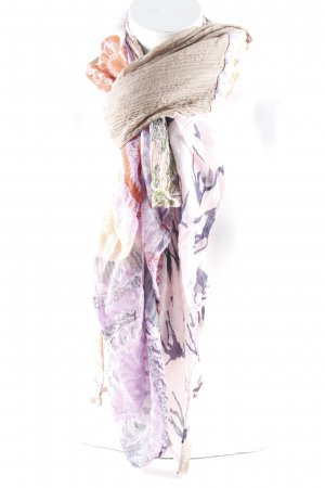 Codello Châle au tricot Mélange de motifs style bohème