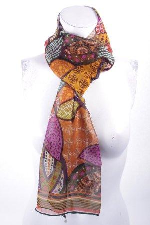 Codello Zijden sjaal abstract patroon hippie stijl