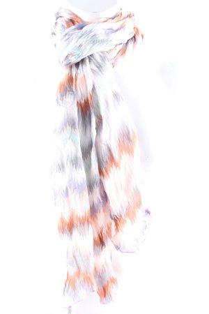 Codello Sciarpa di seta motivo a zig-zag