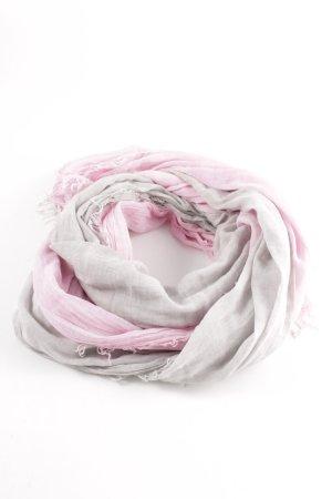 Codello Sommerschal pink-hellgrau Casual-Look