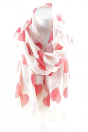 Codello Summer Scarf light pink-red Herzmuster casual look