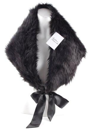 Codello Stola schwarz extravaganter Stil