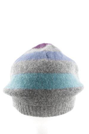Codello Chapeau en tricot motif rayé style décontracté