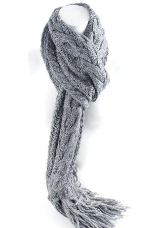 Codello Strickschal grau schlichter Stil