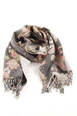 Codello Wollen sjaal bloemenprint casual uitstraling