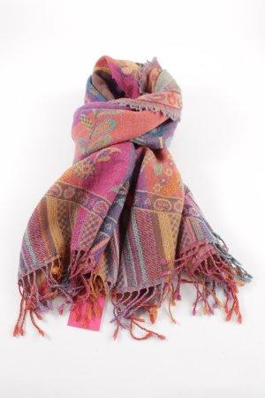 Codello Écharpe en laine Mélange de motifs style décontracté