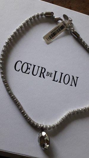 Coeur de Lion Zware ketting zilver