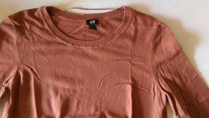 Cognac-farbener Pullover