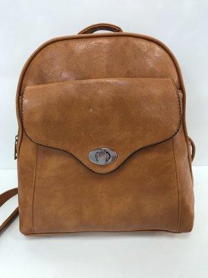 School Backpack dark orange