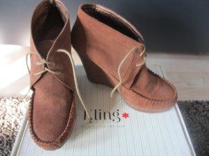 Cognac Stiefel von Kling