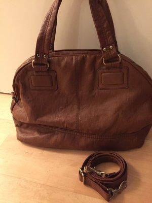 Cognacbraune Handtasche