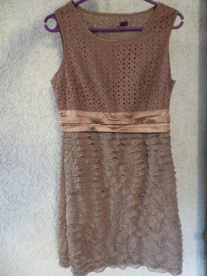 cognacfarbendes Kleid Gr36