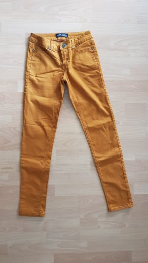 Cognacfarbene Jeans von Arizona Gr. 38