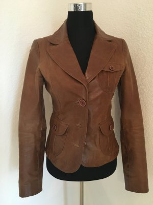 BlendShe Jacket cognac-coloured