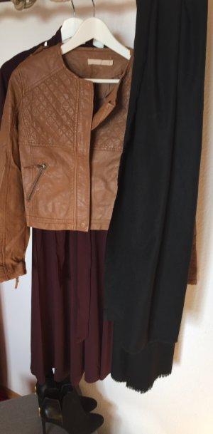 Biker Jacket brown-bronze-colored