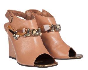 Dorothee Schumacher Pumps cognac-coloured leather