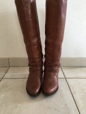 Cognacfarbene Stiefel 38