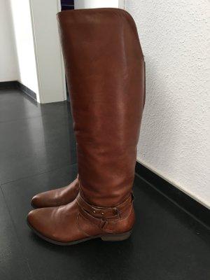 Cognacfarbene Stiefel 38 LETZTER PREIS!!