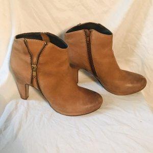 sascha dames laarzen cognac 7342
