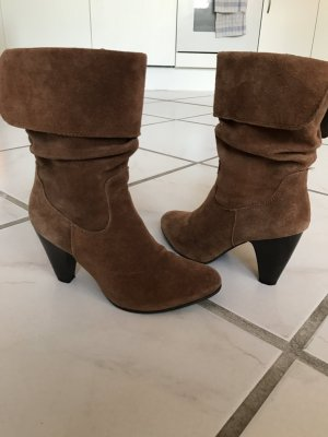 5th Avenue Booties brown-cognac-coloured
