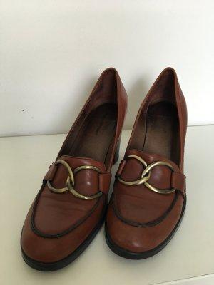 Cognacfarbener Schuh von Marc O'Polo