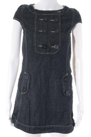 Colcci Jeanskleid dunkelblau Jeans-Optik