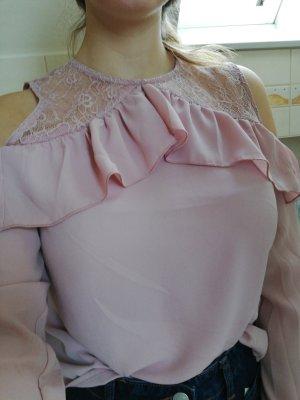 Cold-Shoulder Bluse