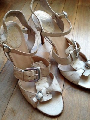 Cole Haan Strapped Sandals cream