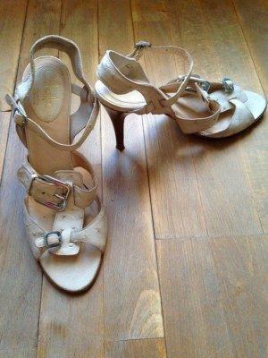 Cole Haan High Heels Sandalen creme Gr 40 Gr. US 9