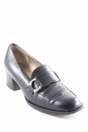 Cole Haan Loafers black minimalist style