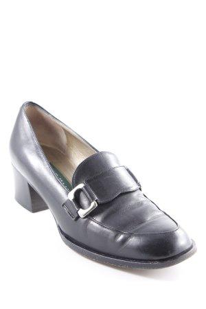 Cole Haan Loafers zwart minimalistische stijl